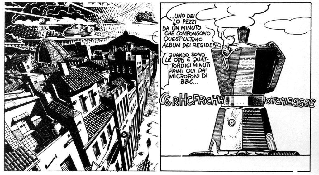 fumetto di Andrea Pazienza