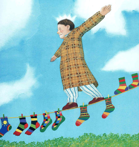 illustrazione di Anthony Browne