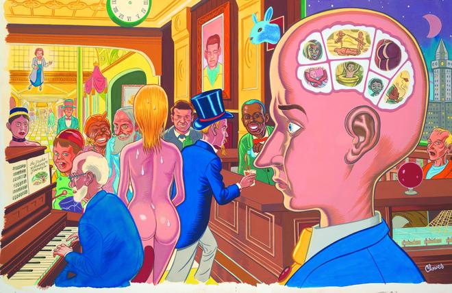 illustrazione di Daniel Clowes