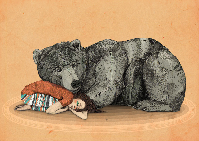 illustrazione di Sandra Dieckmann